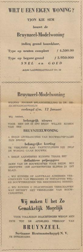 Bruynzeelwoningaanbod